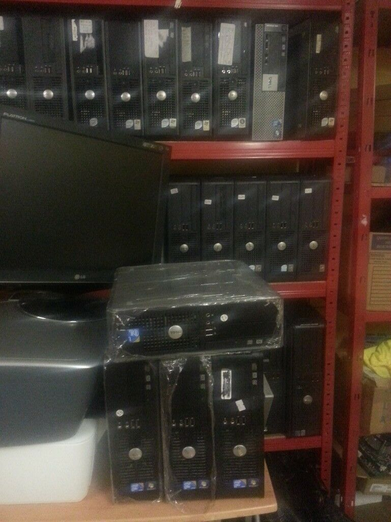 DELL Optiplex 380 Core2 duo,4GB RAM,250GB Hard disk,Windows 7.Ready to go.Buy With receipt