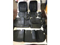 PVC Leather Seat Covers - Protectors in Black For TOYOTA Corolla 2008 to 2012 models