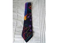 100% Silk Versace Tie