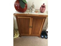 Rosewood Small Storage Unit