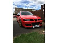 Seat Leon Cupra R Stage 2 1.8T (MK1, Flash Red,) 2002, 5 door car
