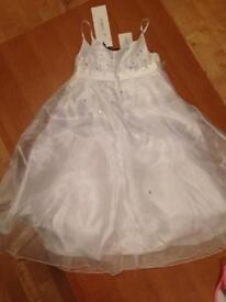 BHS Bridesmaid dress age 2 brand new with tags