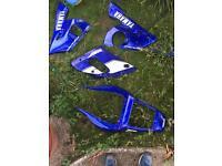 Yamaha R6 & R1 fairing plastics 5eb