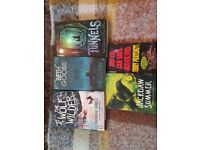 Book bundle 5 Middle grade pre Young Adult, Teenagers