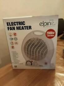 Electric Fan Heater Brand New £10