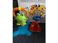 Kids toy bundle X7 items.