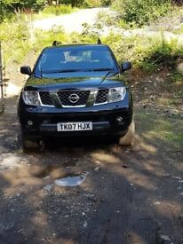NISSAN PATHFINDER AVENTURA SPORT DCI WITH PRIVATE REG