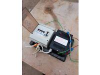 Caravan battery charger