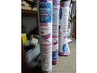 3 rolls of Wickes Polyester Roofing Felt Underlay