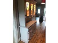 Beautiful kitchen or living room dresser .