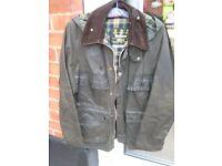 "Genuine Barbour Jacket - Bedale Model Size 38""/97cm"