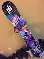 Women's Snowboards and/or bindings