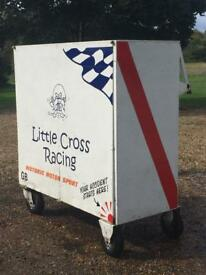Mobile Racing tool box and spares store