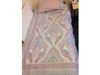 Single duvet and sheets