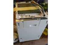 Prima 659 integrated slimline dishwasher