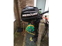 Mercury 2.5hp outboard engine