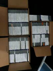 132 ps2 games mostly complete with manuals