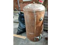 Copper tank for sale. Will accept good offers.