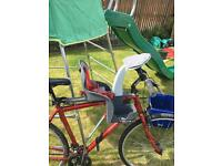 Wee ride front mounted kids bike seat ages 1-4