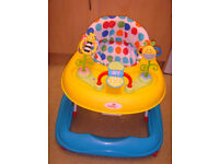 "Babylo Busy Bee Baby/Toddler Activity Walker. ""Smyths""."