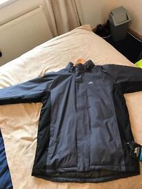 Male large trespass coat size large