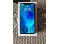 Iphone x silver 256GB apple care
