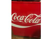 Coca cola mini fridge, used only a number of times