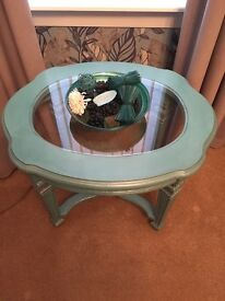 Up-cycled table