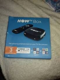 Now tv box new