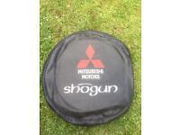 Mitsubishi Shogun spare wheel cover