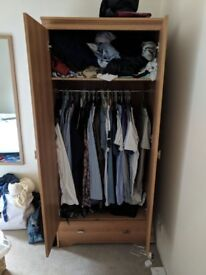 Wooden wardrobe - must go