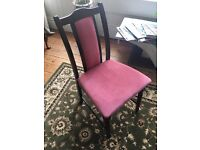 Set of 10 dinning room chairs in excellent condition