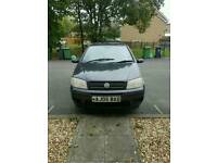 Fiat punto WITH PRIVATE PLATE reduced for quick sale Now £450 or best offer takes it
