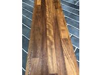 New iroko wood worktop / shelf - 4m x 25cm
