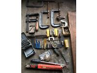 Job lot of engineering tools £40