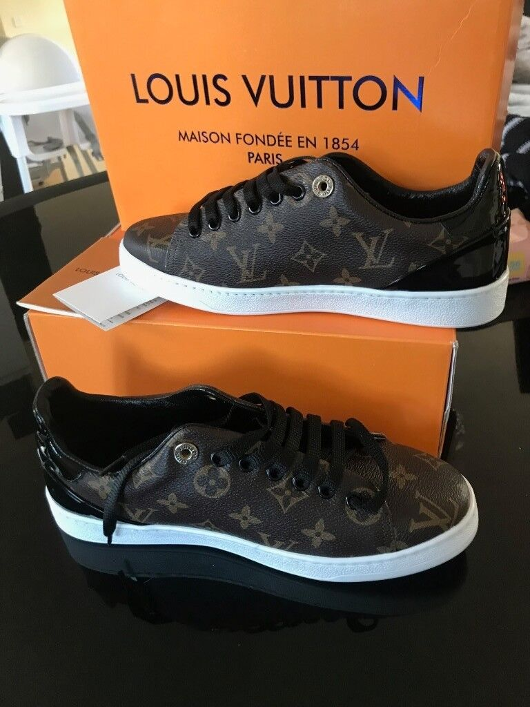 cd0b612733f6 Womens Louis Vuitton Frontrow trainers - uk size 5   38