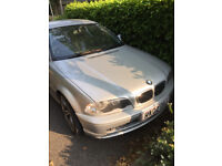 Reduced for immediate sale BMW 318se ci 2.0l 2 door coupe
