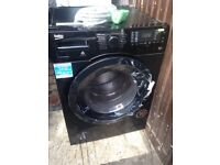 Black Washer dryer 8kg.....Mint Free delivery