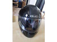 Motorcycle gear: helmet, jacket, 2 x gloves