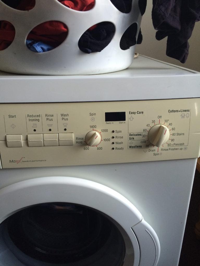 Bosch washing machine(faulty)