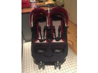 Baby Jogger City Mini Twin Pushchair in great condition