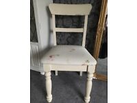 Occasional chair in Old orche