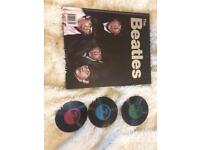 Beatles Book and coasters