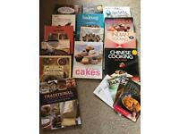 14 Assorted Cookery Books