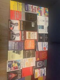 BOOKS on work, money, management, careers, wealth