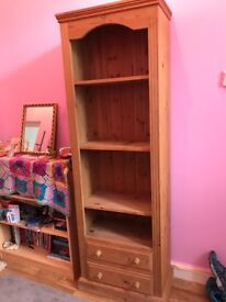 Tall Pine Shelf Unit - Great condition