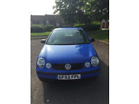 Volkswagon Polo 1.4 Manual 5dr 2002 Low Tax and Insurance Great Little First Car