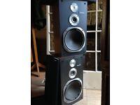 Vintage Technics Floor Speakers