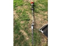 Stihl KM90R kombi long reach hedge cutter