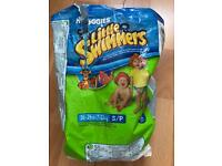 5x pairs Huggies Little Swimmers size S/P